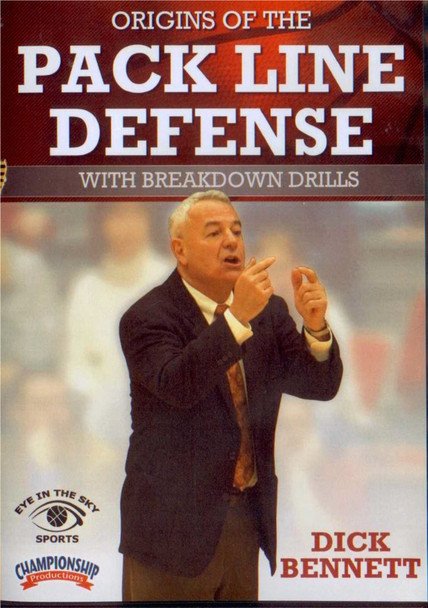 Origins Of The Pack Line Defense With Drills by Dick Bennett Instructional Basketball Coaching Video