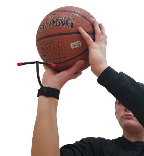 Basketball Shooting Aid to Improve Arc on Shot