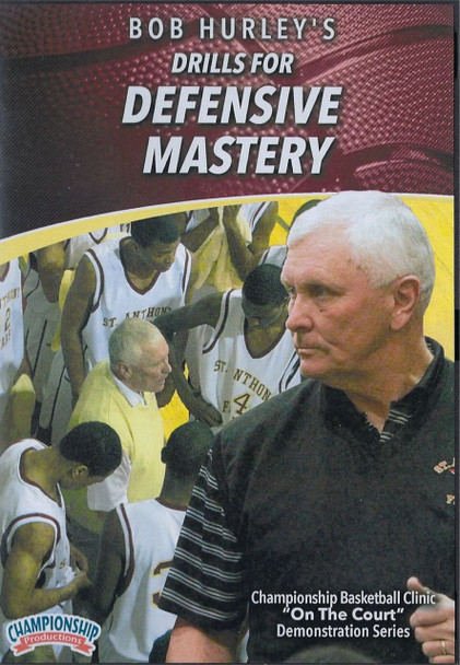 Bob Hurley's Drills for Defensive Mastery by Bob Hurley Instructional Basketball Coaching Video