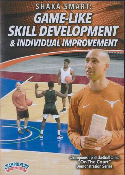 Game-Like Skill Development & Individual Improvement by Shaka Smart Instructional Basketball Coaching Video