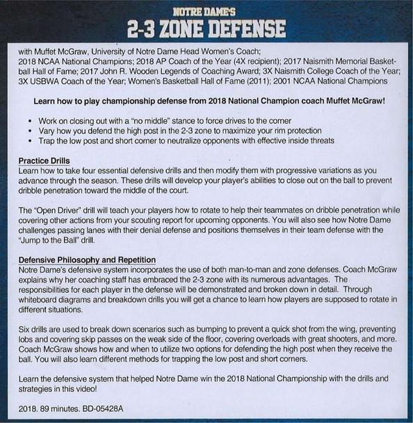 2-3 Zone Defense Tips