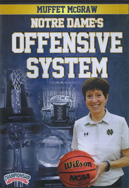 Notre Dame's Offensive System by Muffet McGraw Instructional Basketball Coaching Video