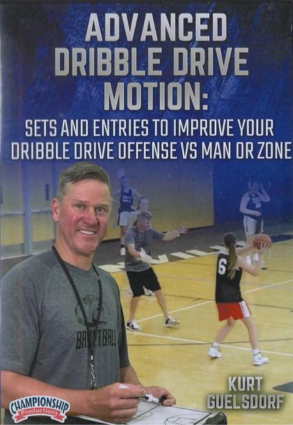 Advanced Dribble Drive Motion Offense by Kurt Guelsdorf Instructional Basketball Coaching Video