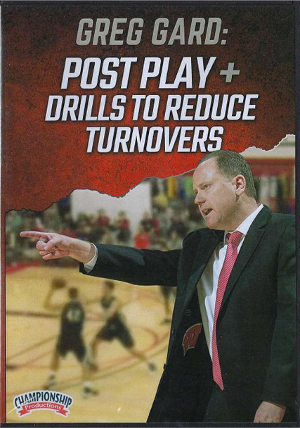 Post Play & Drills to Reduce Turnovers by Greg Gard Instructional Basketball Coaching Video
