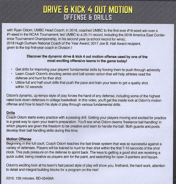 Drive and kick basketball drills