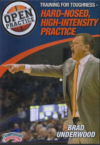Hard Nosed High Intensity Basketball Practice by Brad Underwood Instructional Basketball Coaching Video
