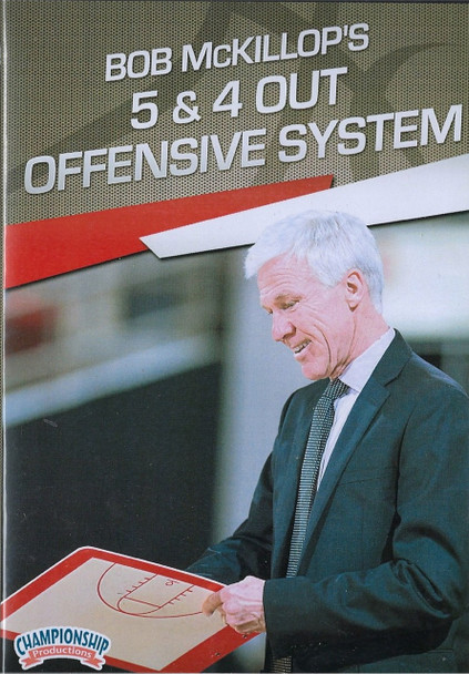 5 & 4 Out Offensive System for Basketball by Bob McKillop Instructional Basketball Coaching Video