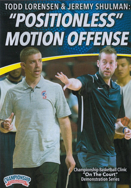 Postionless Motion Offense for Basketball by Todd Lorensen Instructional Basketball Coaching Video