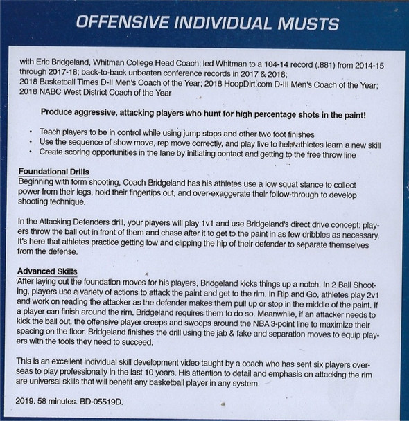 basketball offensive skills and drills advanced begininer