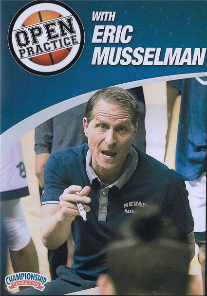 Open Practice with Eric Musselman by Eric Musselman Instructional Basketball Coaching Video