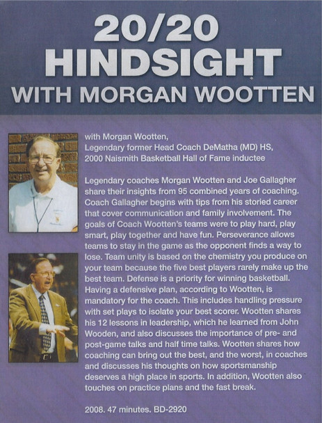 Morgan Wooten on Coaching Basketball