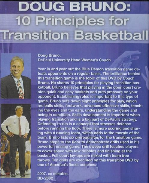 Fast Break basketball principles and drills