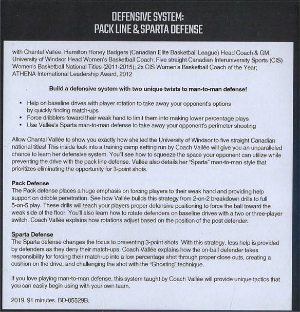 (Rental)-Defensive System Pack Line & Sparta Defense
