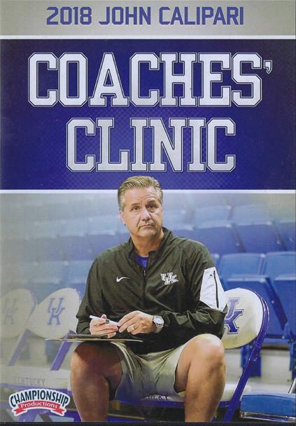 2018 John Calipari Coaches Clinic by John Calipari Instructional Basketball Coaching Video