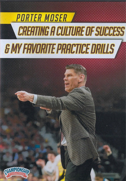 Creating a Culture of Success & My Favorite Drills by Porter Moser Instructional Basketball Coaching Video
