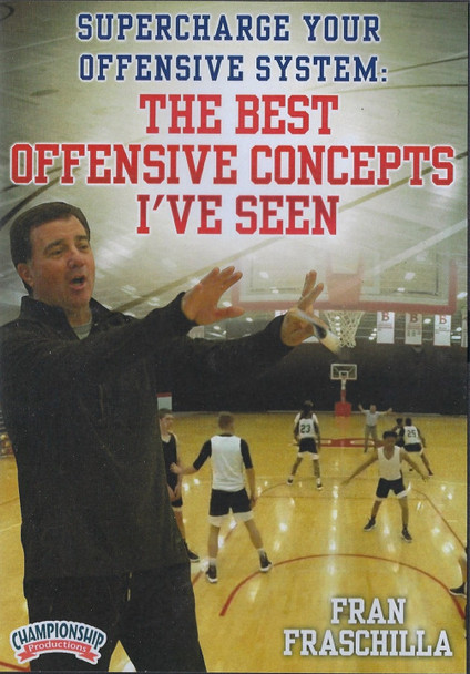 The Best Offensive Basketball Concepts I've Seen by Fran Fraschilla Instructional Basketball Coaching Video