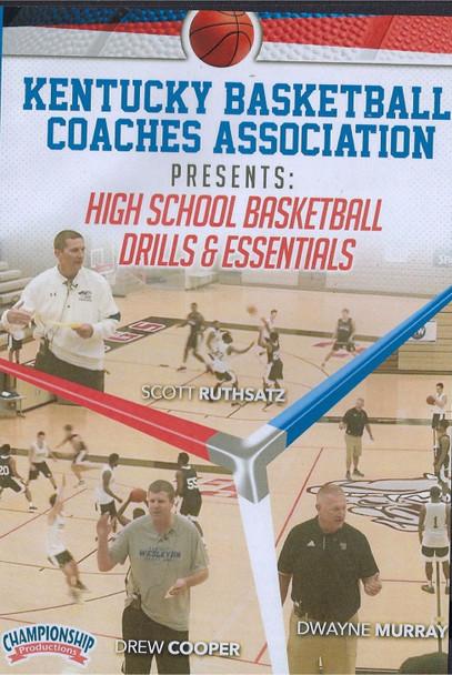 Kentucky Basketball Association High School Basketball Drills by Kentucky Basketball Association Instructional Basketball Coaching Video