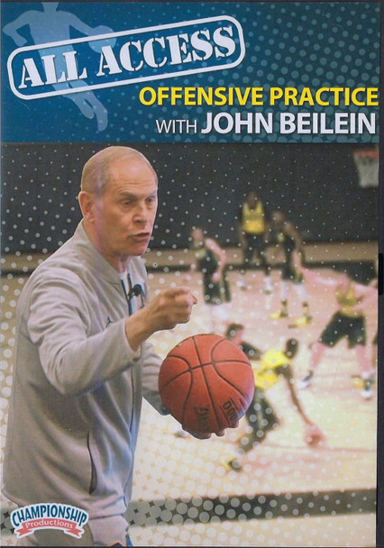 All Access Basketball Offensive Practice John Beilein by John Beilein Instructional Basketball Coaching Video