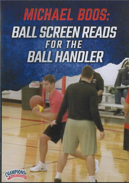 Ball Screen Reads for the Ball Handler by Michael Boos Instructional Basketball Coaching Video