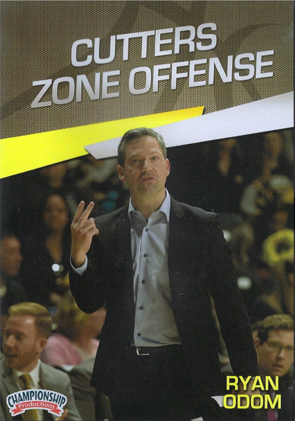 Cutters Basketball Zone Offense by Ryan Odom Instructional Basketball Coaching Video
