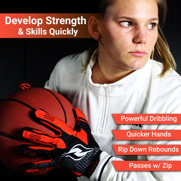Why use weighted basketball dribbling gloves?