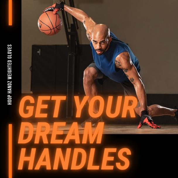 HoopsKing Hoop Handz weighted basketball dribbling gloves