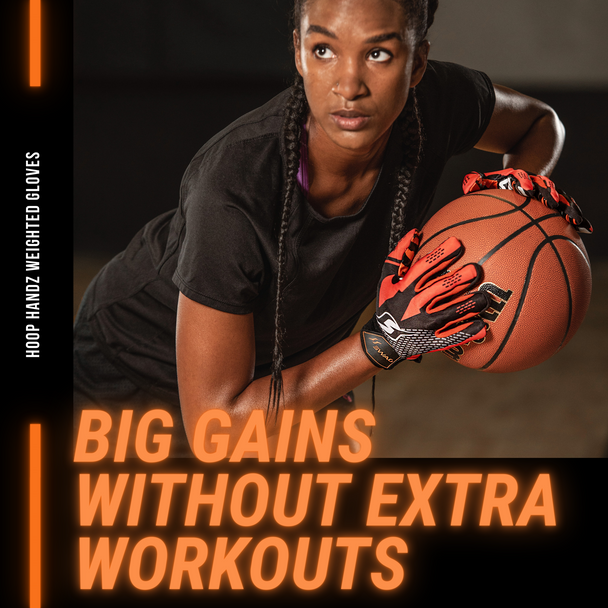 Weighted basketball gloves workout drills training