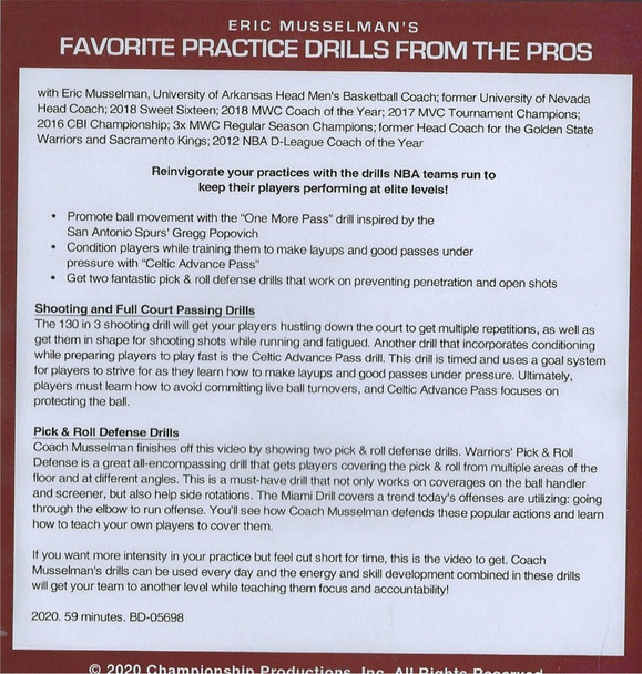 (Rental)-Favorite Practice Drills From the Pros