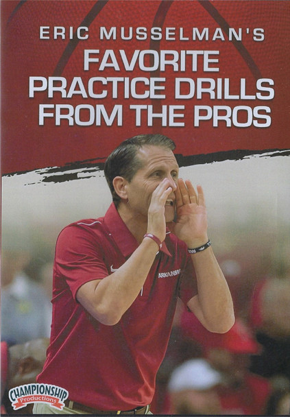 Favorite Practice Drills From the Pros by Eric Musselman Instructional Basketball Coaching Video