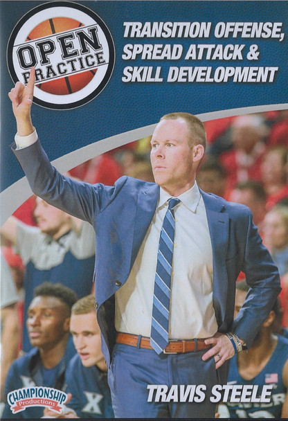 Transition Offense, Spread Attack, & Skill Development by Travis Steele Instructional Basketball Coaching Video