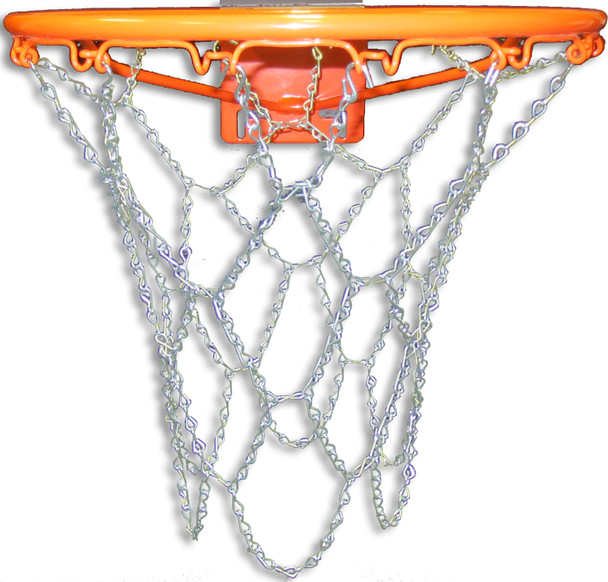 Steel Chain Basketball Net for Traditional Rim