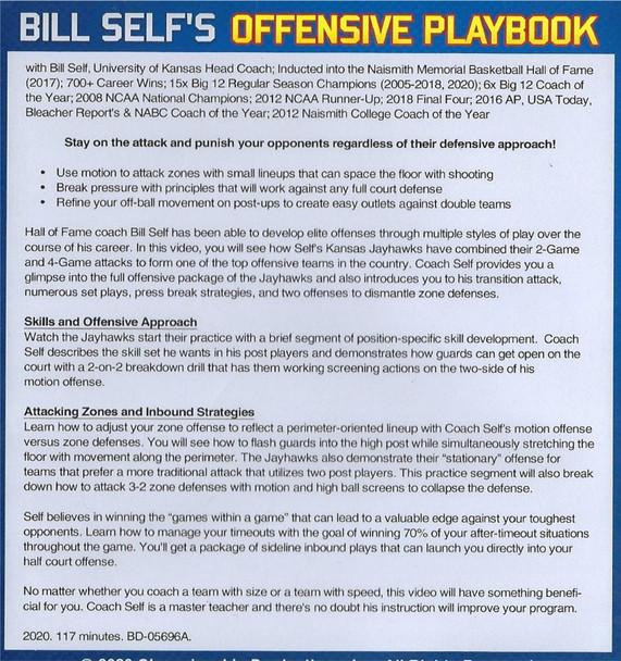 (Rental)-Bill Self's Offensive Basketball Playbook