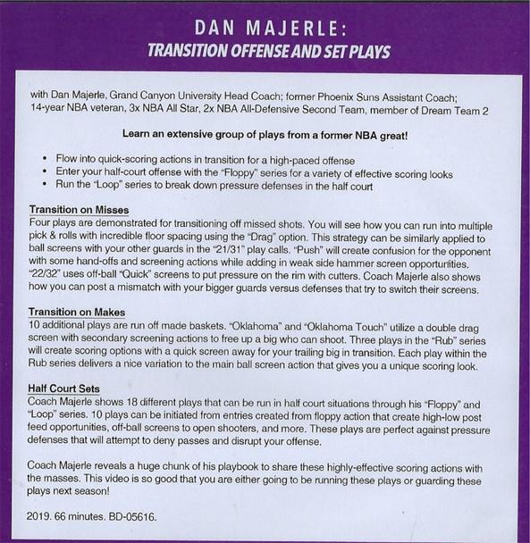 (Rental)-Dan Majerle: Transition Offense & Set Plays