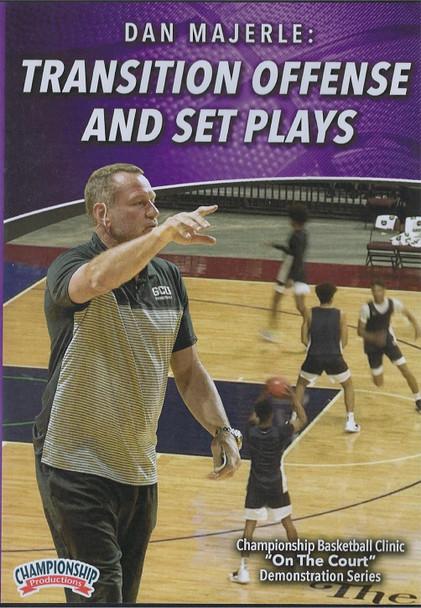 Dan Majerle: Transition Offense & Set Plays by Dan Majerle Instructional Basketball Coaching Video