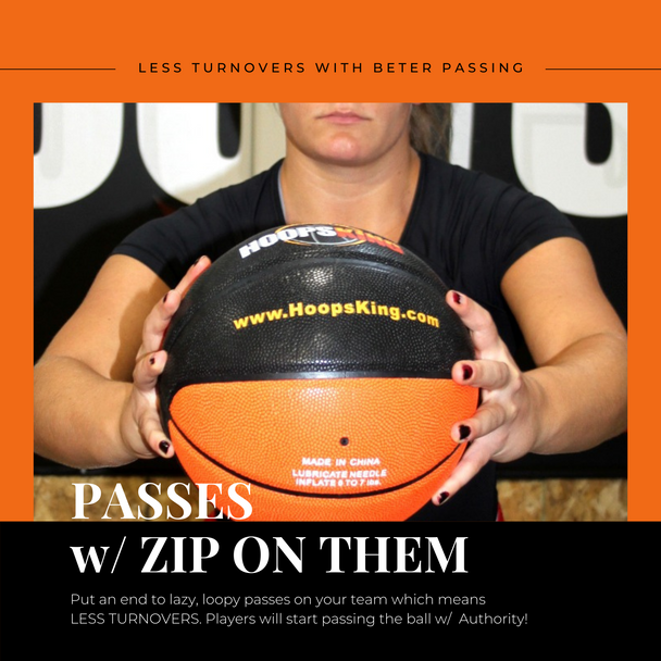 weighted basketball for passing drills