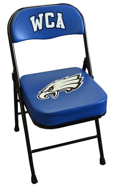 Custom sideline chair 2 color imprint