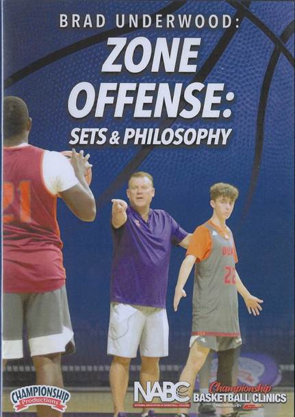 Zone Offense: Sets & Philosophy by Brad Underwood Instructional Basketball Coaching Video