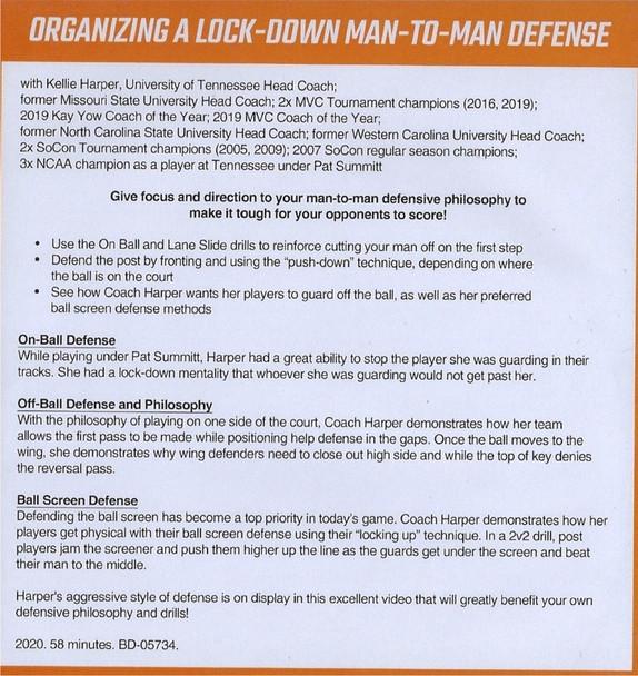 (Rental)-Organizing a Lock Down Man to Man Defense