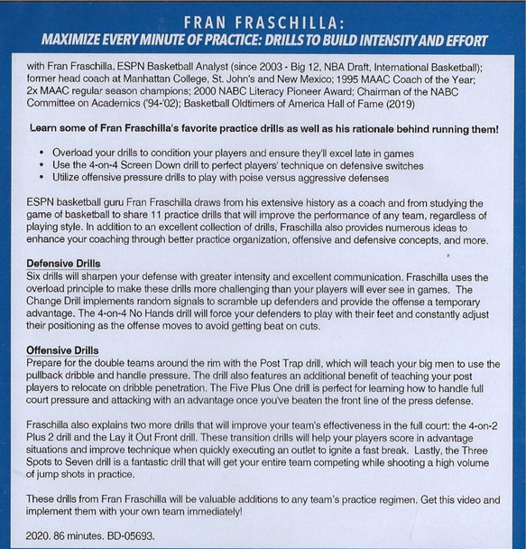 (Rental)-Maximize Every Minute of Practice: Drills to Build Intensity & Effort