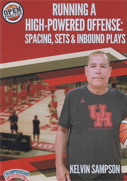 Running a High Powered Basketball Offense: Spacing, Sets, & Inbound Plays by Kelvin Sampson Instructional Basketball Coaching Video