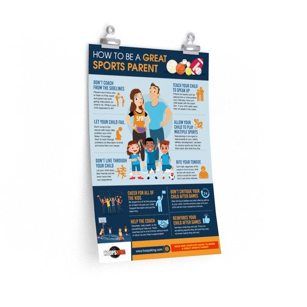 How to Be a Great Sports Parent Poster