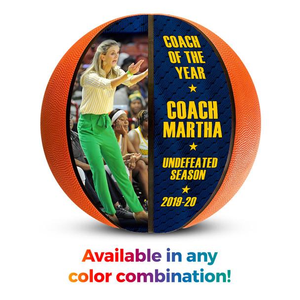 Basketball coach 1000 wins gift