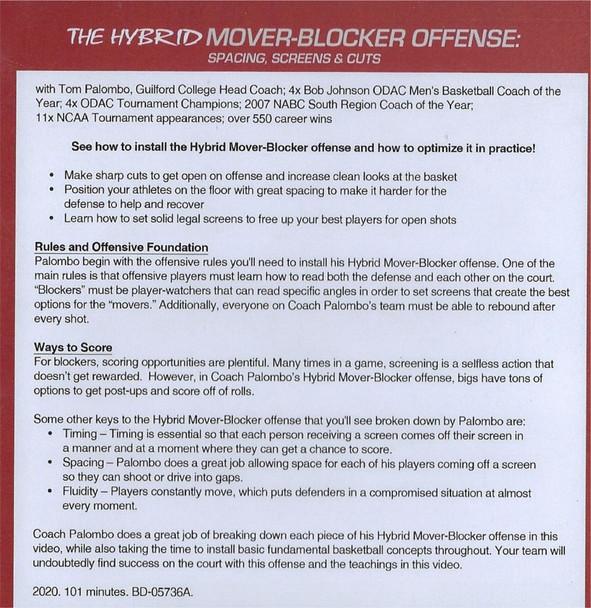 (Rental)-The Hybrid Mover Blocker Offense