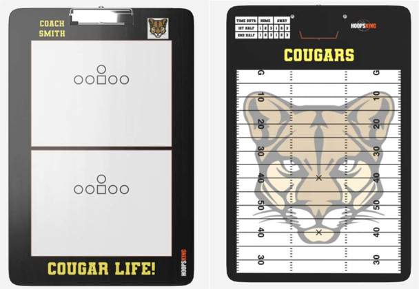 Custom Football Coaching Clipboard Dry Erase Gift