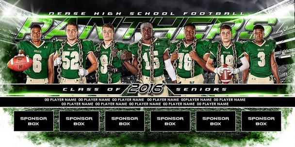 Custom Sports Team Banners Football