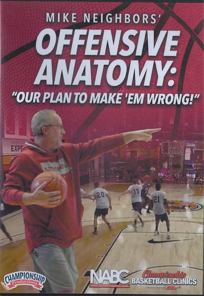 Offensive Anatomy: Our Plan to Make Them Wrong by Mike Neighbors Instructional Basketball Coaching Video