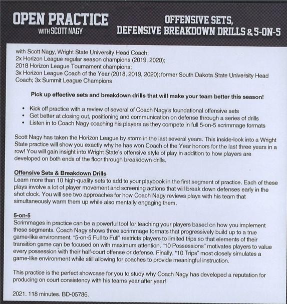 (Rental)-Offensive Sets, Defensive Breakdown Drills, & 5 on 5