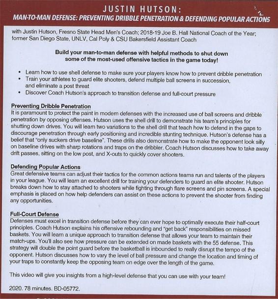 (Rental)-Man to Man Defense: Preventing Dribble Penetration & Popular Actions