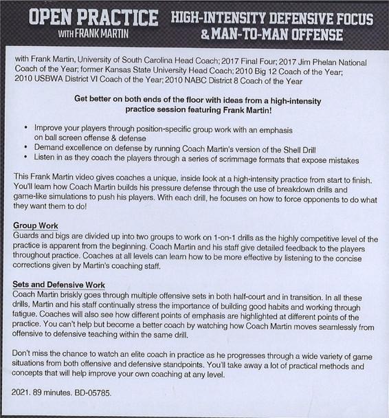 (Rental)-High-Intensity Defensive Focus & Man to Man Offense