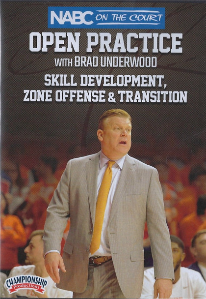 Skill Development, Zone Offense, & Transition by Brad Underwood Instructional Basketball Coaching Video